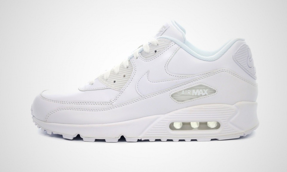 air max 90 leather blanc