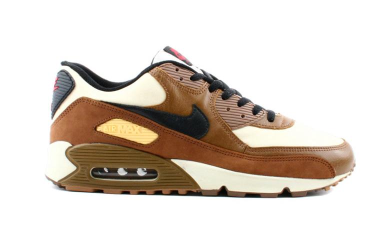 separation shoes a84bc 07599 nike air max 90 cuir marron