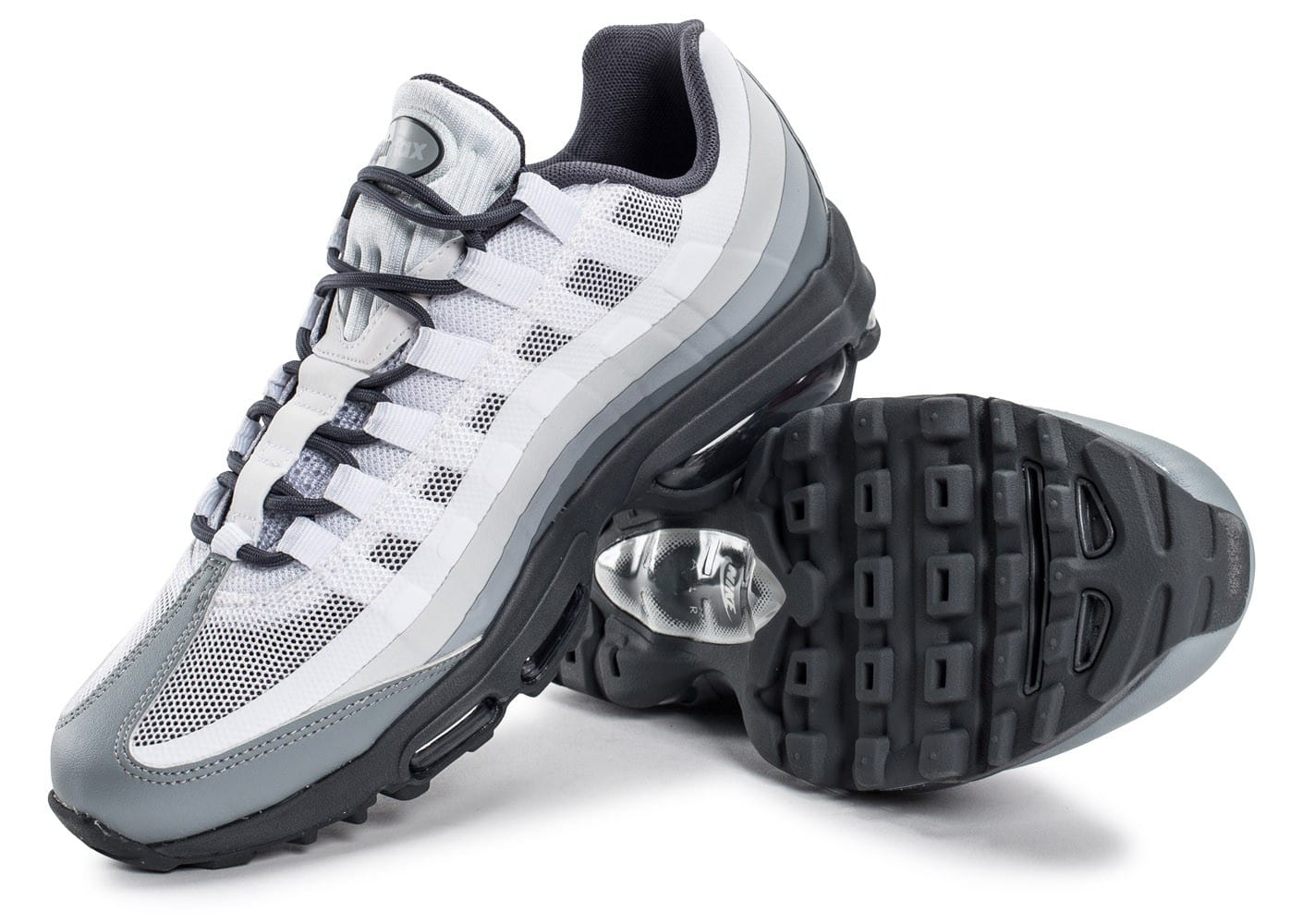 online store 14a4c 9c128 Nike Sportswear Air Max 95 Ultra femme - chaussures pour femme - blanc-menthe-bleu.  Rabais Homme 93509 Nike Air Max 95 Ultra Essential ...
