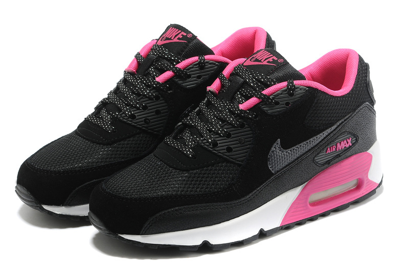 acheter en ligne 30aad fa637 air max femme 90 noir et rose