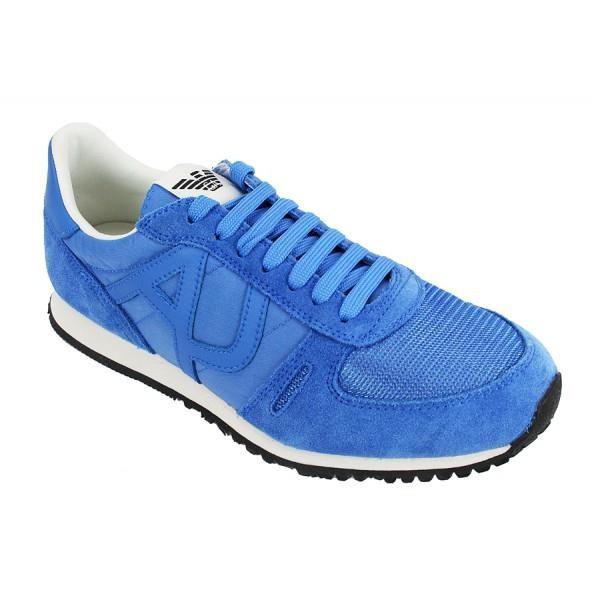 4646e3f21fb chaussure armani jeans bleu
