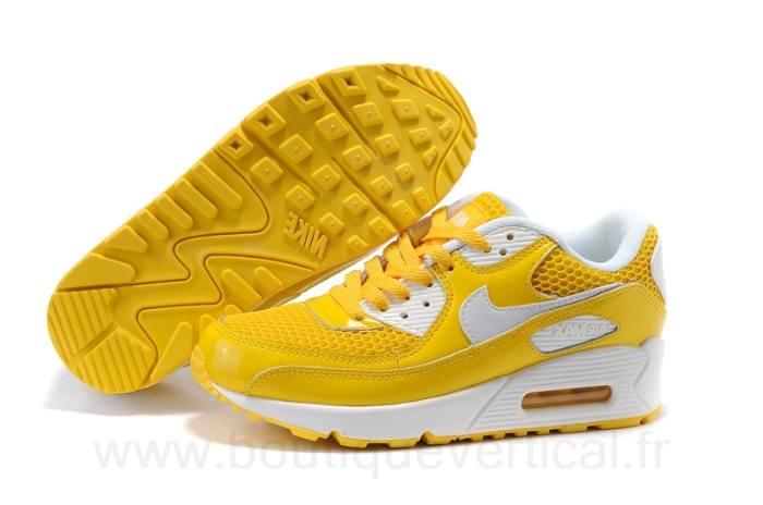 chaussure air max jaune