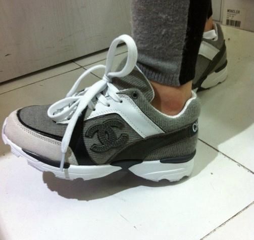 chaussure chanel basket femme b27b57a54248