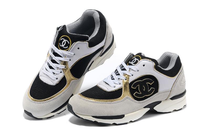 c8de30e00aa chanel chaussures 2014 femme occasionnel pas cher noir blanc. NEUF CHAUSSURE  CHANEL SUPERMARKET COLLECTION BASKETS 37.5 TWEED CUIR SHOES 1145 u20ac.
