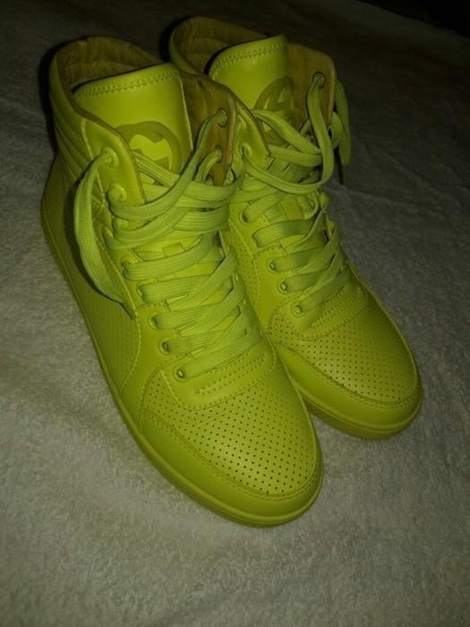 c909f54f1a6 chaussure gucci fluo