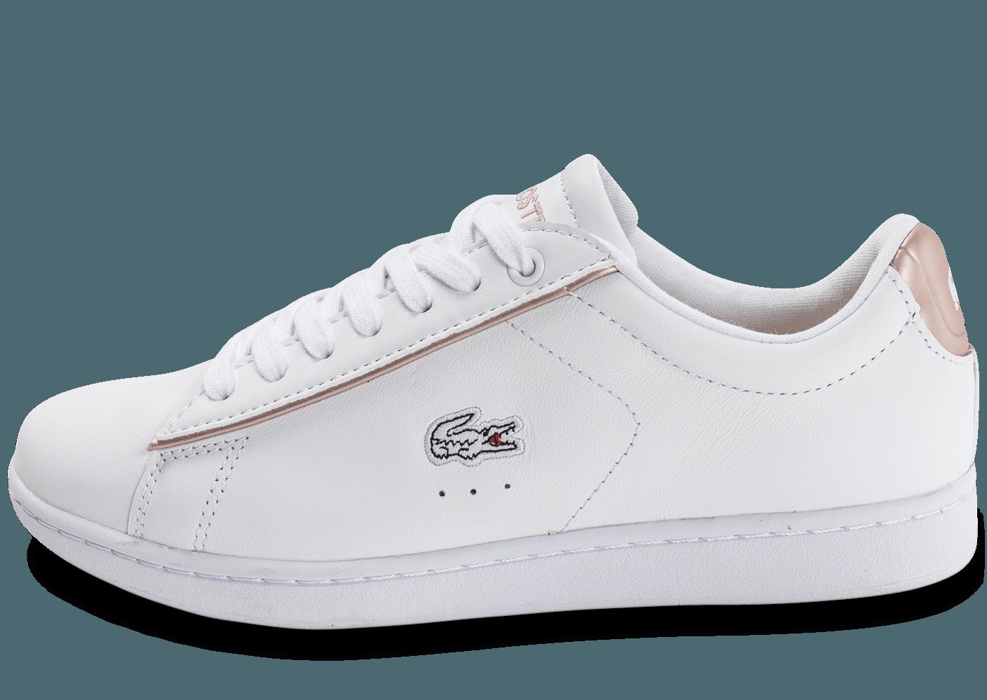 1c866cfc09 chaussure lacoste blanche et rose