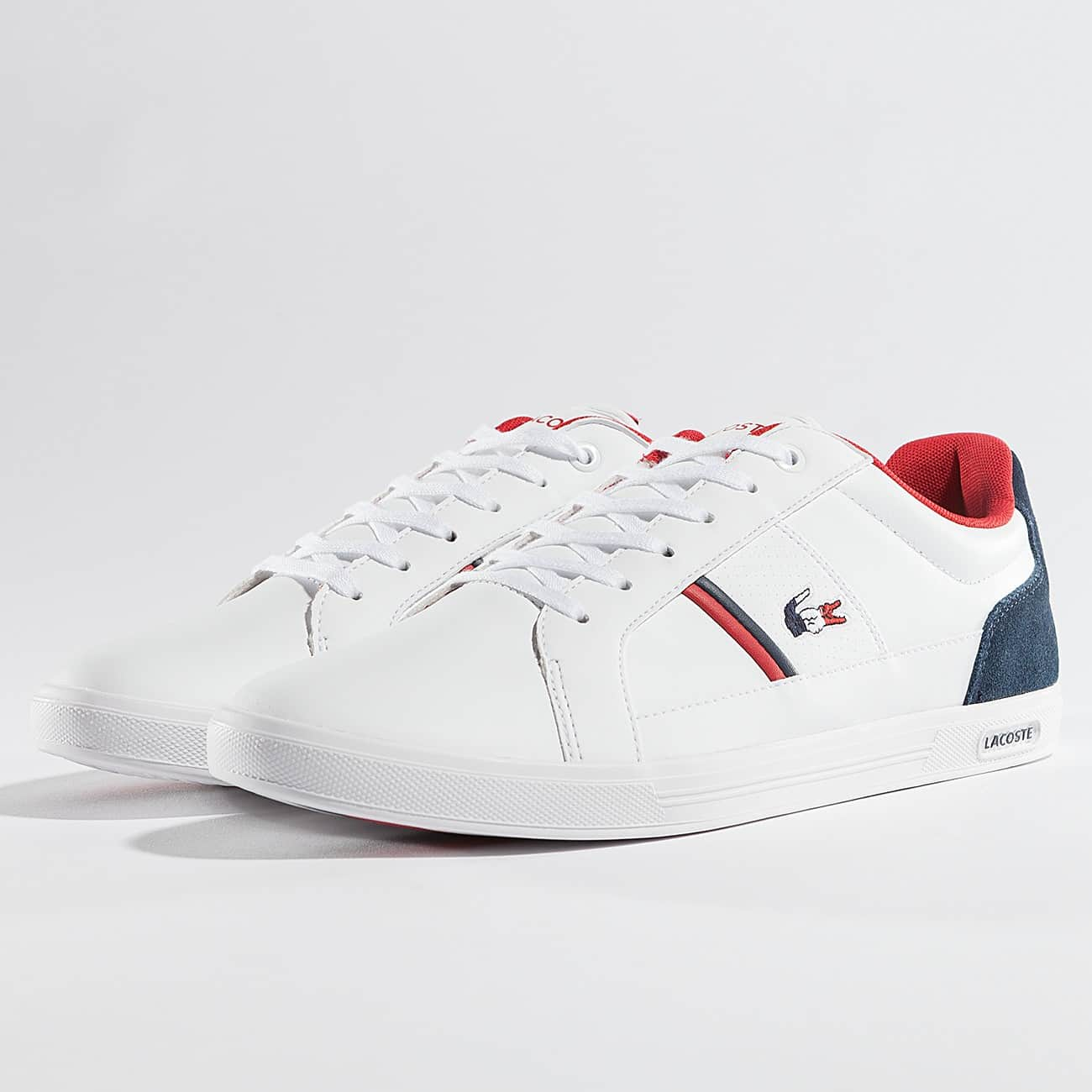 Chaussure Lacoste Blanc Rouge Blanc Lacoste Lacoste Rouge Blanc Chaussure Chaussure 80OnkPw