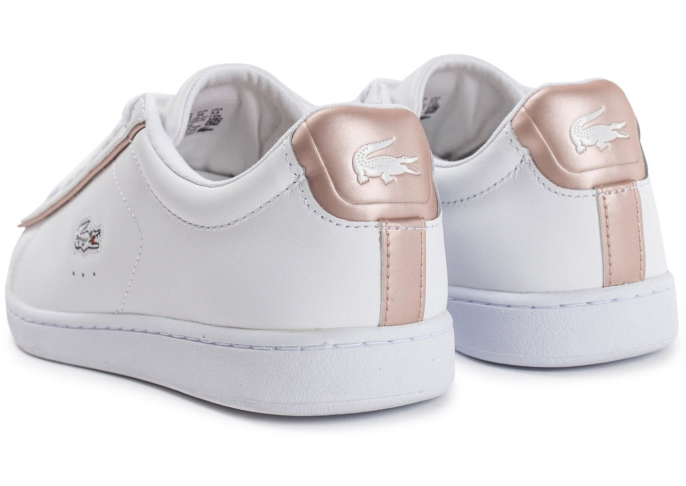 b4f68fb02a5 Lacoste Carnaby Evo 417 SPW blanche - Chaussures Baskets femme - Chausport  Chaussures Femme Baskets basses Lacoste CARNABY EVO BL 1 Noir Chaussures  Femme ...
