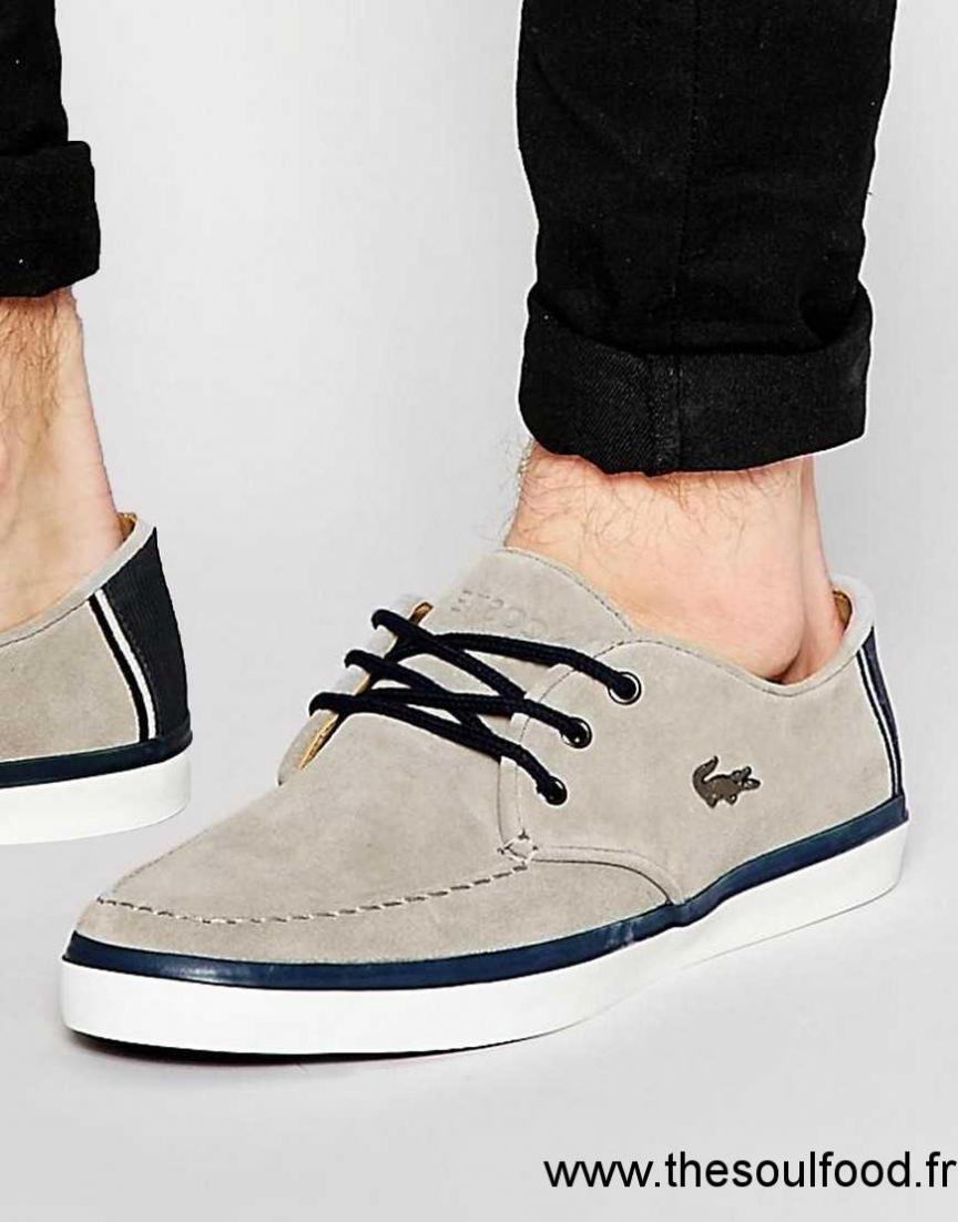 956bd9e58d8 Quitte à prix abordable Lacoste - Sevrin - Chaussures en daim Brown Homme  En vente. Boots Bradshaw Chuk 316 Daim LACOSTE image 0