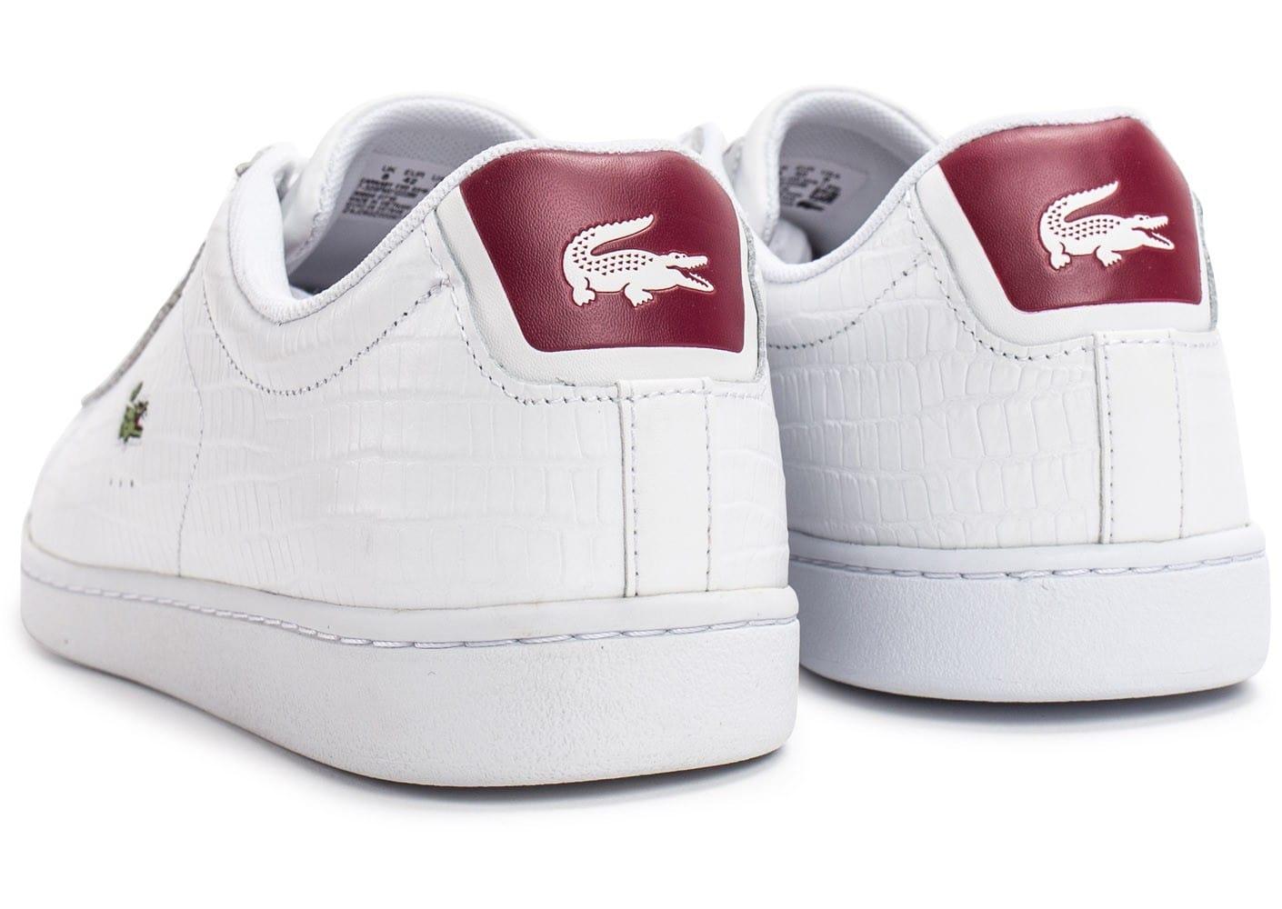 c8dc2e70a4 Lacoste - Light k bordeau - Chaussures mode ville - Bordeaux - Taille 39.  Chaussure Lacoste femme. Lacoste Avenir Slip 118 1 SPW, Baskets Femme