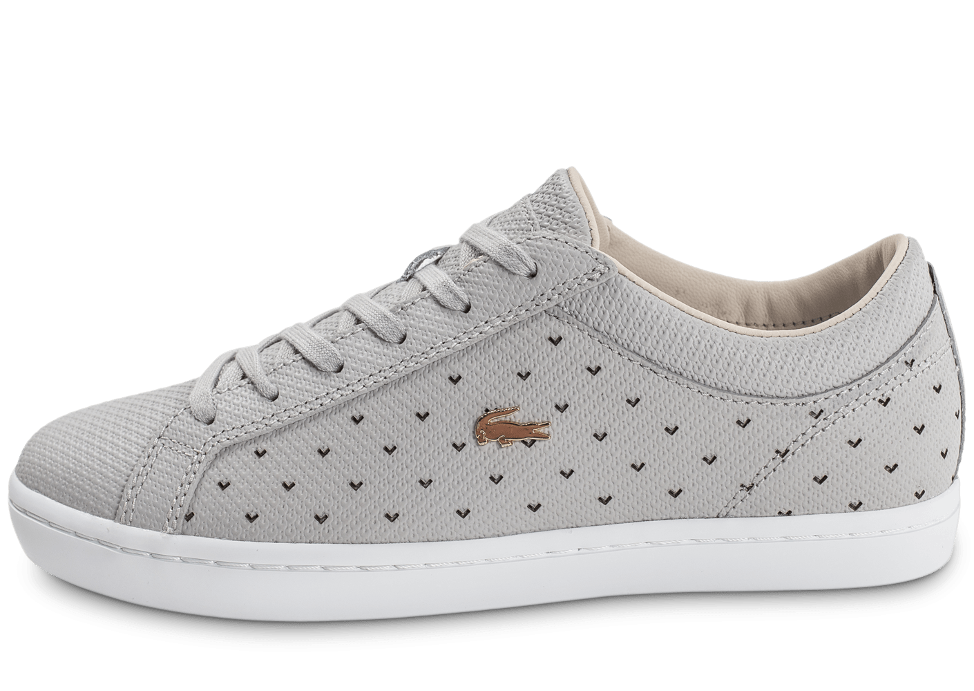 836a0406b0 chaussure lacoste femme grise