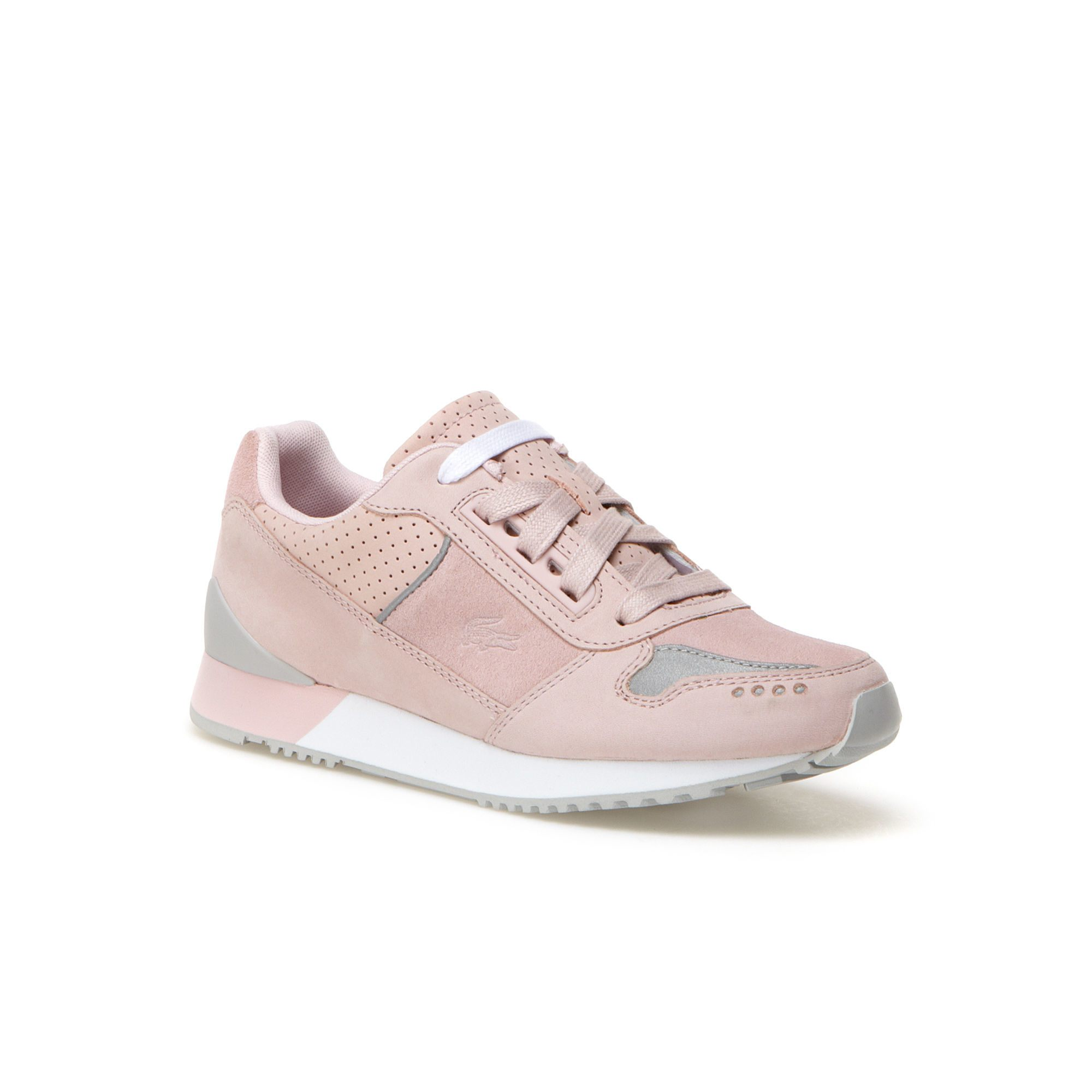 Femme Pale Rose Rose Femme Lacoste Lacoste Chaussure Chaussure Pale A45RjL