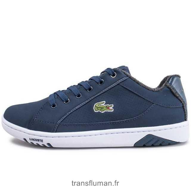 d2e27aaa3f Plus d\u0027information · Classique Bleu Marine Lacoste Baskets Straightset  W3 - 66FW240 Chaussures Homme / Femme 45EUR, chaussures lacoste prix,chaussure  ...