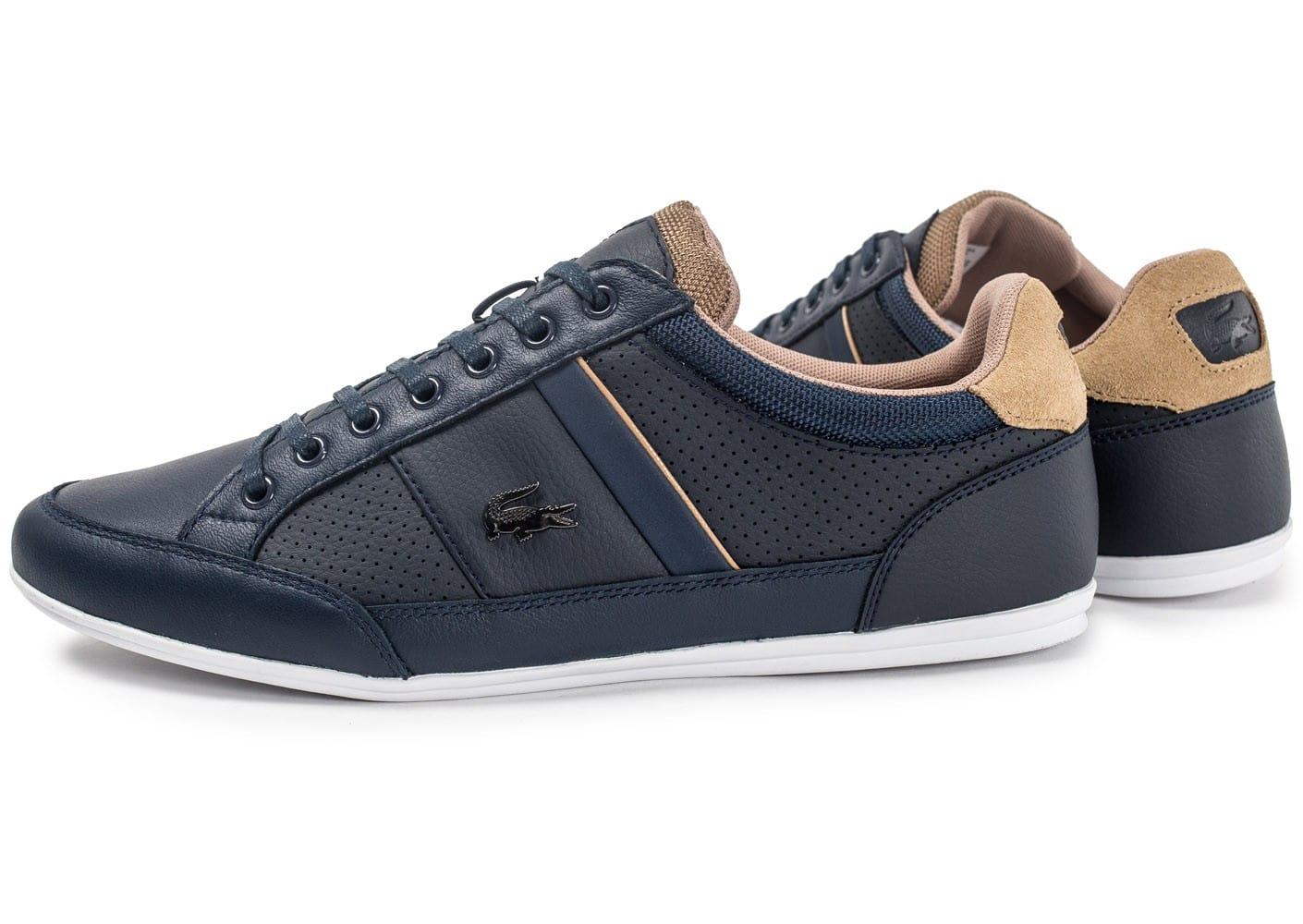 4379035abb Chaussures Homme | Lacoste L.Ight 117 1 Spm Bleu Marine M49n2 une plus  grande image -32% Lacoste Baskets basses Carnaby Homme Blanc et vert  gl19383a