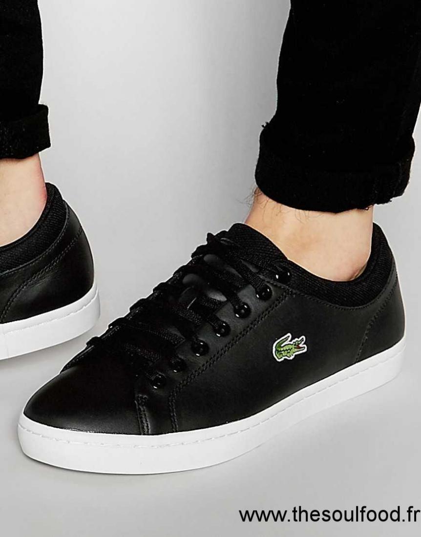 c7d18cbcd635 Lacoste - Lerond Cuir Noire ... Chaussures-LACOSTE-Homme-BIANCO-Cuir-naturel -PU-734SPM0003- ... BASKET Lacoste Homme Lerond BL formateurs 1 CAM, ...