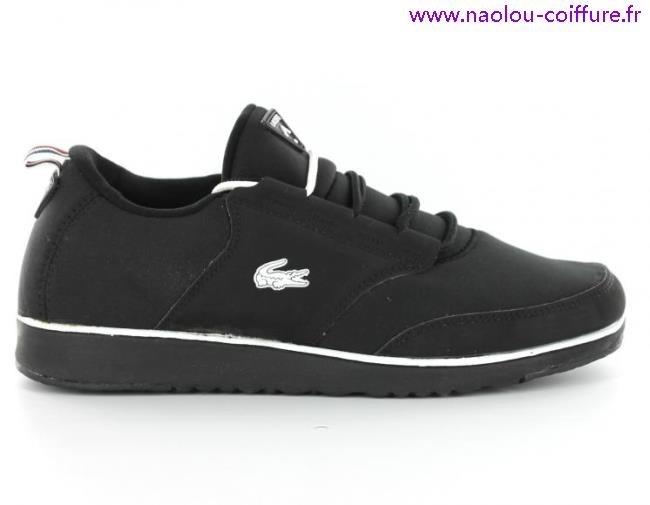 de8dc95c66a Chaussures De Tennis Lacoste Explorateur Noir Blanc Homme Vente Cliquez  pour zoomer Chaussures Lacoste Light 2.0 Rei Noire vue extérieure .