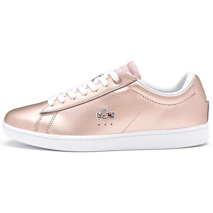 chaussures de séparation da68c ed556 chaussure lacoste rose femme