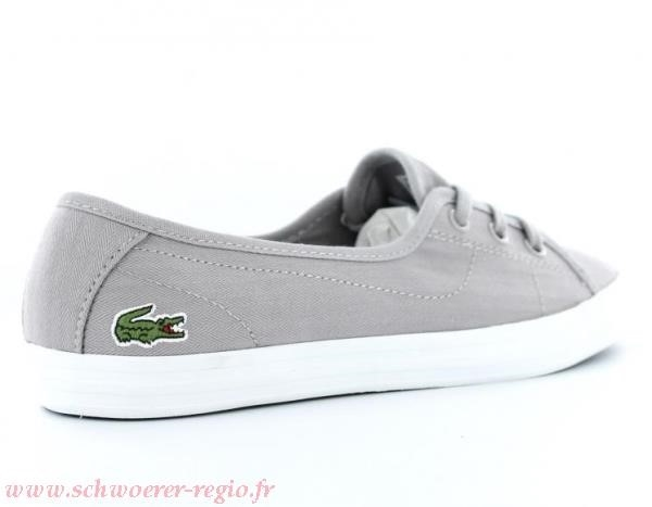a6a0a5d802d Lacoste Chaussures   Baskets Ziane Chunky LCR SPW en blanc femme