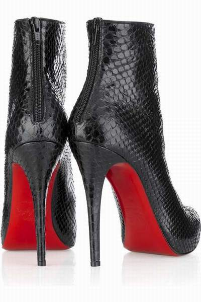 bottes louboutin d'occasion