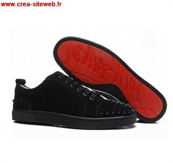 louboutin homme chaussure noir