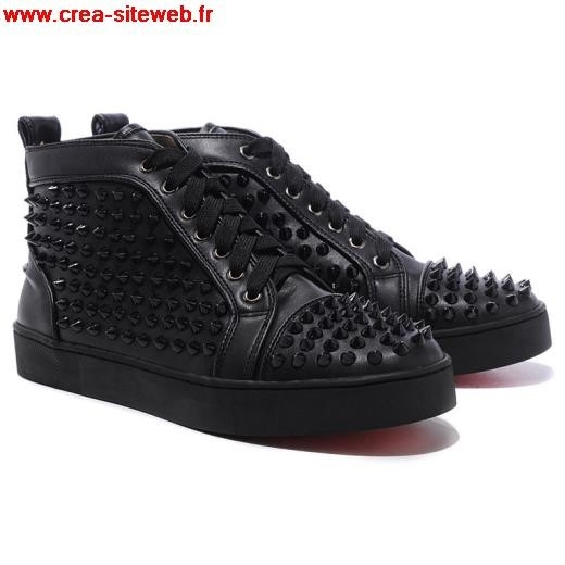 chaussure louboutin homme noir