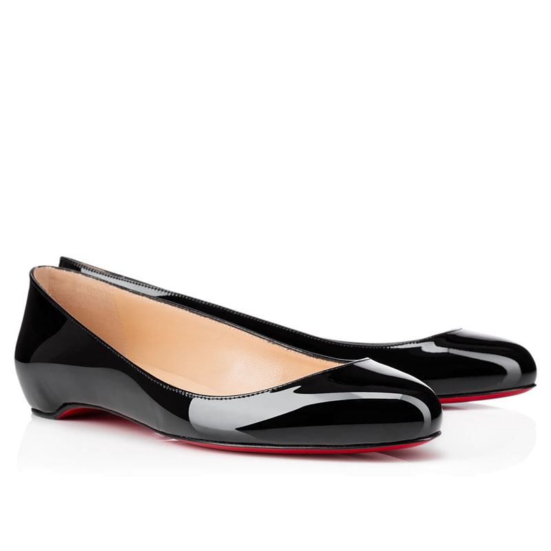 louboutin femme chaussure plate