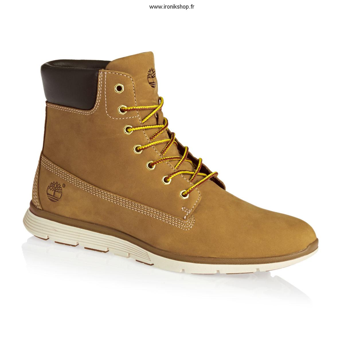 timberland rouge 38