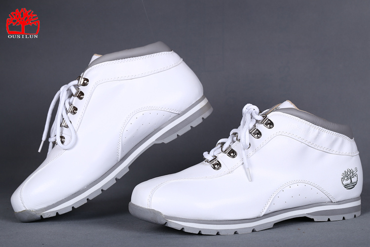 timberland blanche chaussures homme