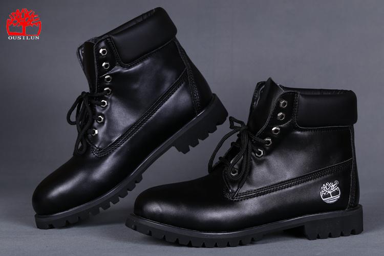 chaussure homme en cuir timberland