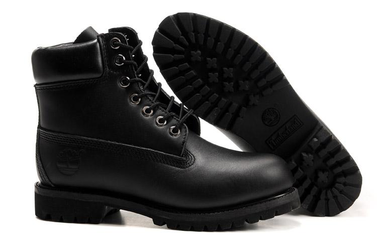 chaussures timberland cuir noir