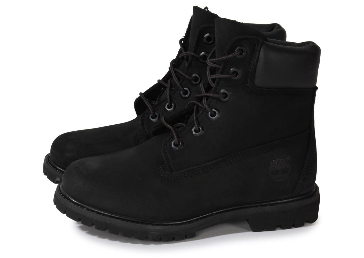 timberland femme chaussure noir