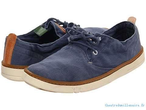 chaussure timberland tissu