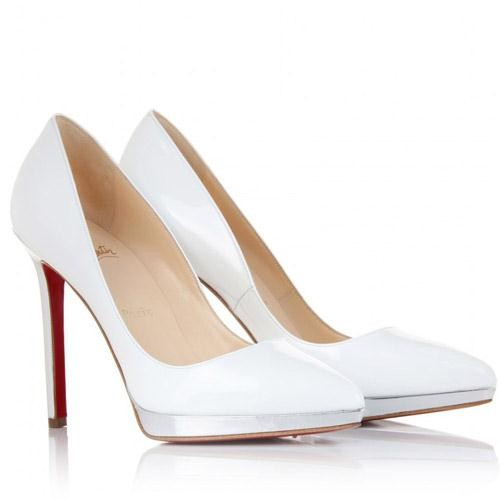 louboutin pigalle blanche