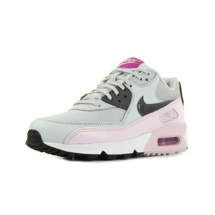 buy popular 43abc 4e0ee nike air max 90 essential baskets rose