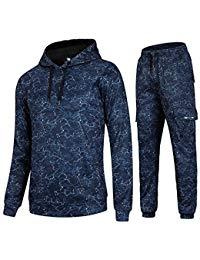 survetement adidas gris et orange. Cordon de contraste Homme Fleece Full  Zip Up Hoodie Survêtement Gym Jogging Suit Joggers survetement adidas bleu  et rose ... b7e25859b84d