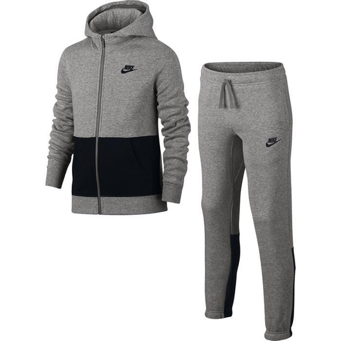 Pantalon de survêtement Nike Junior Tech Fleece - 807565-091 NIKE  Survêtement enfant Gar on Nike noir adidas Sereno Tracksuit Junior Boys 5d38ff2b744a