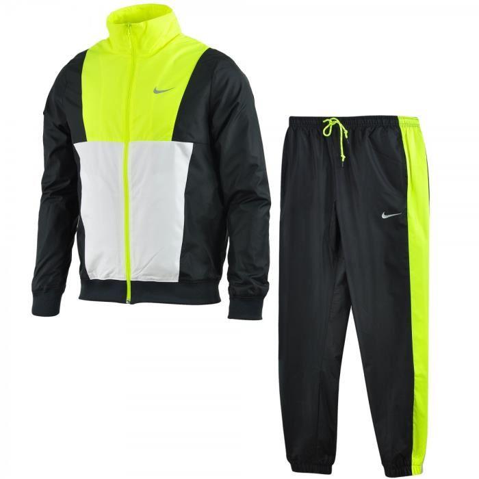 46067d1ed4c2e Ensemble de survêtement Nike Sportswear Track Suit - 928119-011. Nike  Pantalon de jogging homme en molleton resserré aux chevilles Gris Gris XL   Amazon.fr  ...